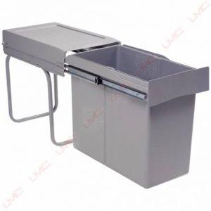 poubelle coulissante 30 litres