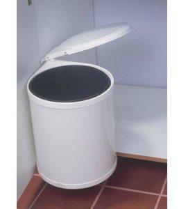 Poubelle sous évier pivotante 13 litres