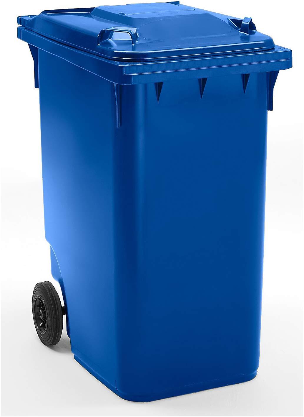Conteneur à déchets 360 litres bleu