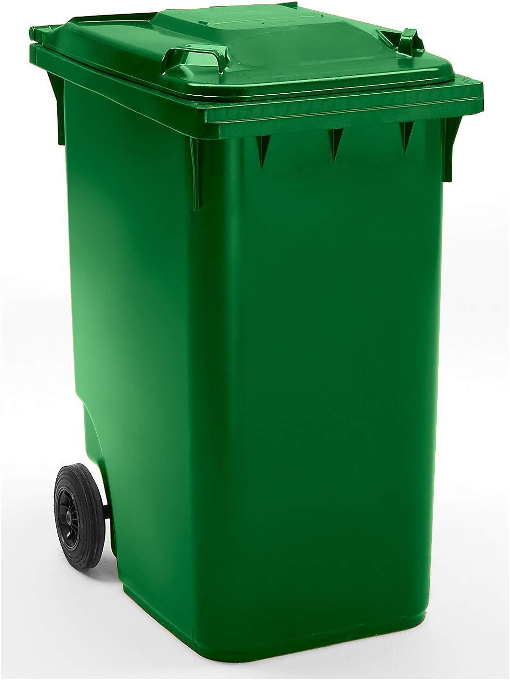 Conteneur à déchets 360 litres vert